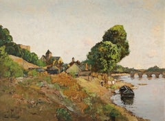 Beautiful French Impressionist Landscape