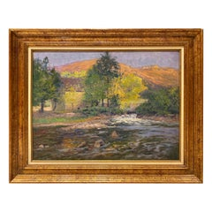 "Paul Madeline '1863-1920' ""Crozant, The Bouchardon Mill"""