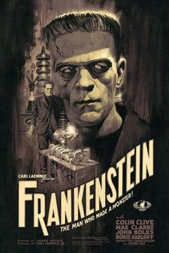 Paul Mann - Frankenstein - Contemporary Cinema Movie Posters