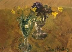 Petits bouquets en verres -  Small bouquets in glasses