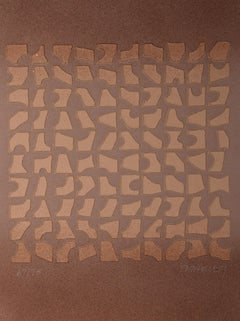 Abstract Cast Paper Print by Paul Maxwell