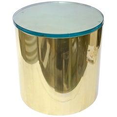 Paul Mayen Drum Side Table Vintage