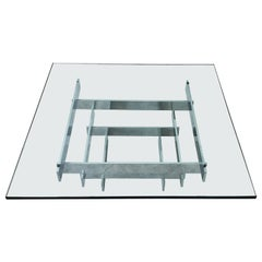 Paul Mayen for Habitat Stacked Chrome Coffee Table