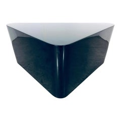 Paul Mayen for Intrex Black Lacquer Coffee Table