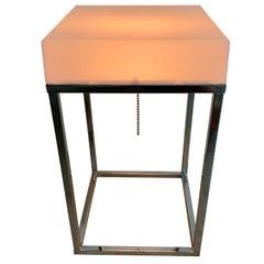 Paul Mayen Light Box Lamp Table or Table or Floor Lamp