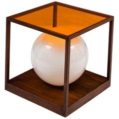 Paul Mayen Orange Quadrus Light Table for Habitat, 1958