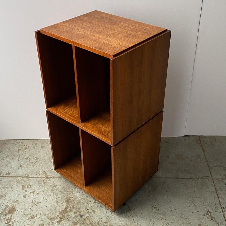 Mid-Century Modern Paul Mayen Rotating Storage Cabinet for Habitat For Sale