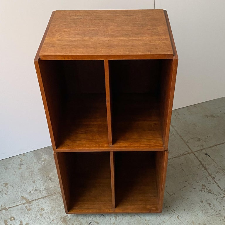 Paul Mayen Rotating Storage Cabinet for Habitat In Good Condition For Sale In New York, NY