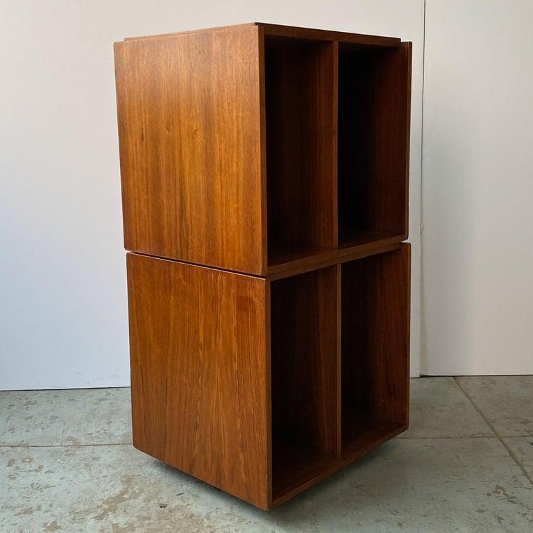 Mid-20th Century Paul Mayen Rotating Storage Cabinet for Habitat For Sale