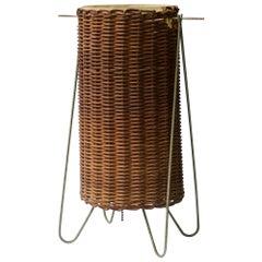 Mayen Wire Lamp Lantern 1951 MoMA Good Design Cabinmodern Rustic Basket Noguchi