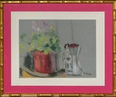 Pastel Flowers by Paul Maze