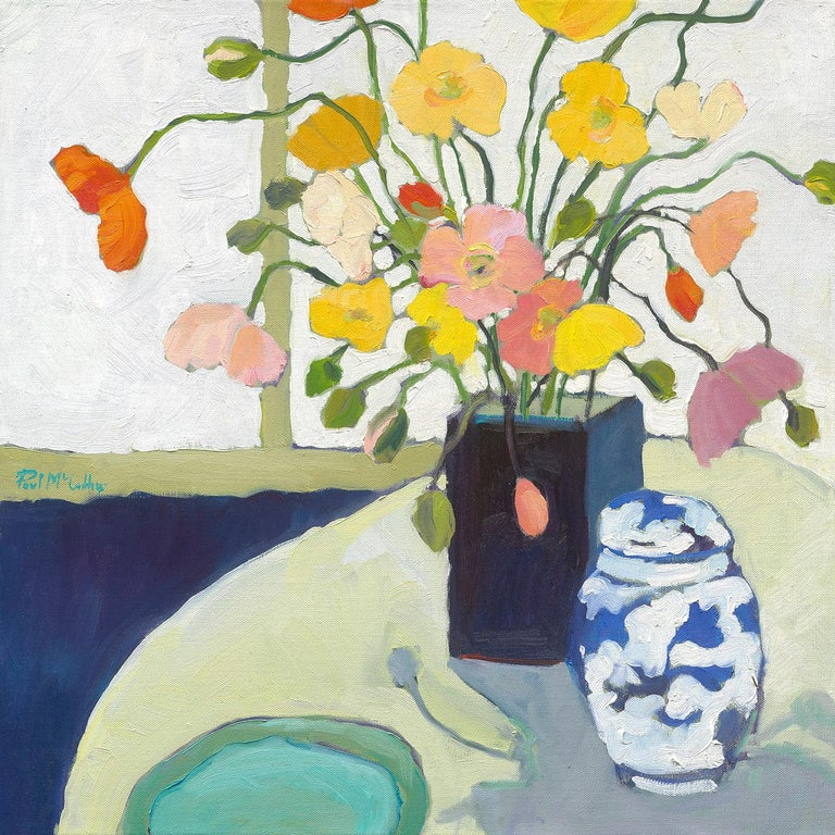 Paul McCarthy Still-Life Painting - Iceland Poppies