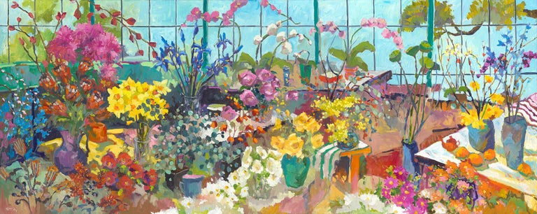 Paul McCarthy Still-Life Painting - The Florist's Garden