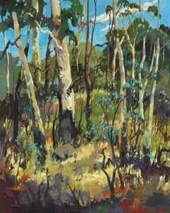 Koala's Lunch Box - Fauvist, Landscape Print by Paul McCarthy 2018