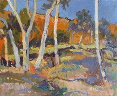 MacDonnell Ranges - Landscape Painting
