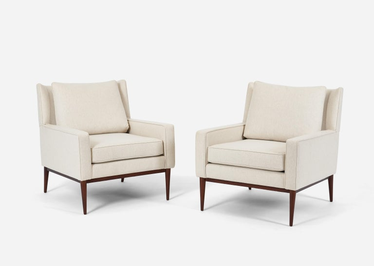 Paul McCobb 1312 Lounge Chairs In Excellent Condition For Sale In Chicago, IL