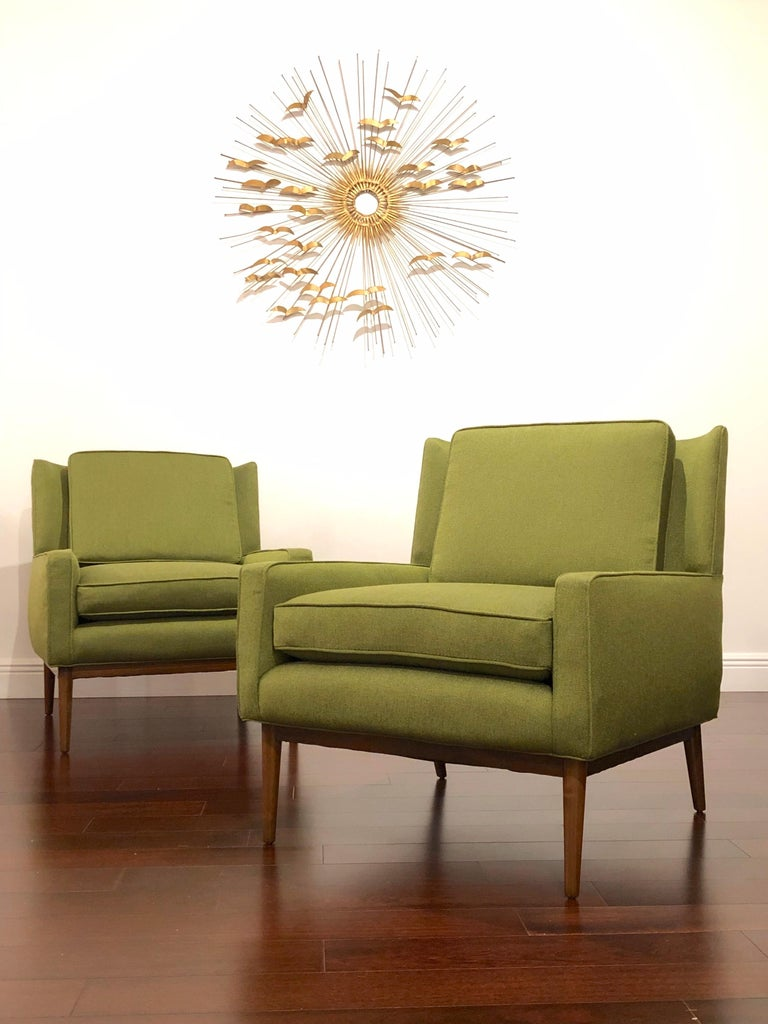 Paul McCobb Attributed Lounge Chairs In Excellent Condition For Sale In St.Petersburg, FL