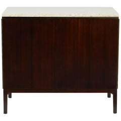 Paul McCobb Cabinet with Travertine Top