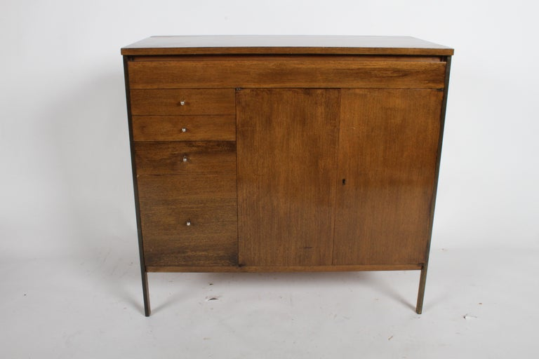 Mahogany Paul McCobb Connoisseur Collection Dry Bar or Server For Sale