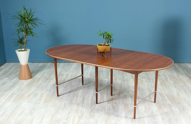 "Paul McCobb ""Connoisseur"" Dining Table for H. Sacks & Sons In Excellent Condition For Sale In Los Angeles, CA"