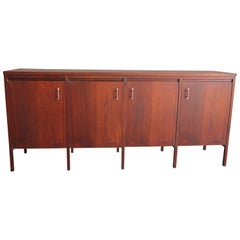 Paul McCobb Designed Credenza with Upper Cabinet