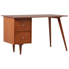 Paul McCobb Desk for Planner Group in Solid Maple, 1950s