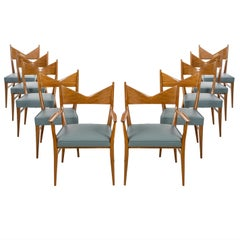 Paul McCobb Dining Chairs Set of Ten