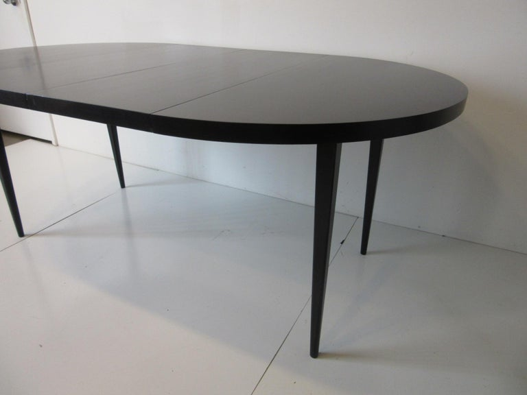 Wood Paul McCobb Dining Table Planner Group