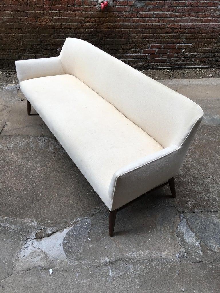 Paul McCobb Directional Tub Sofa For Sale 3