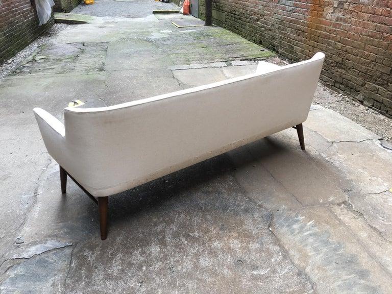 Mid-20th Century Paul McCobb Directional Tub Sofa For Sale