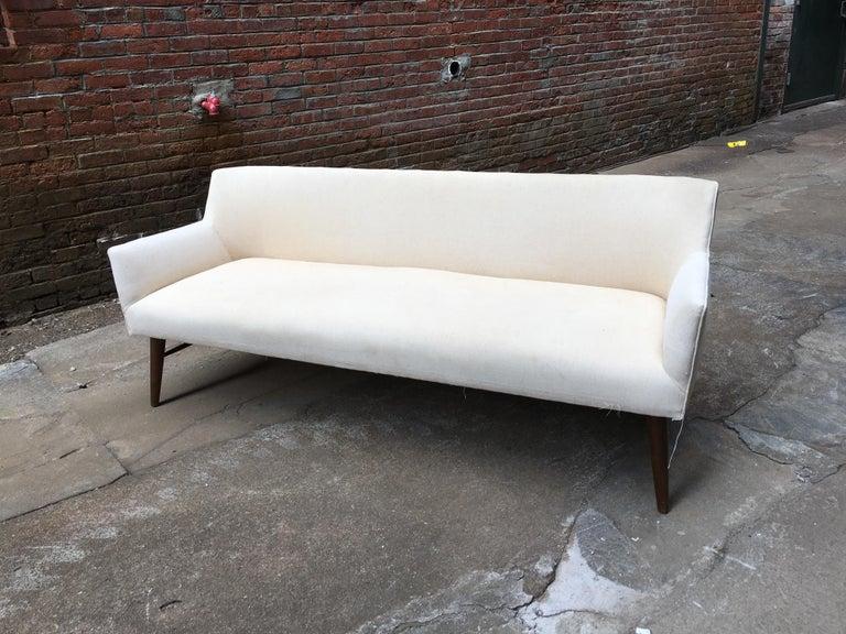 Upholstery Paul McCobb Directional Tub Sofa For Sale