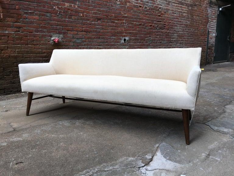 Paul McCobb Directional Tub Sofa For Sale 1