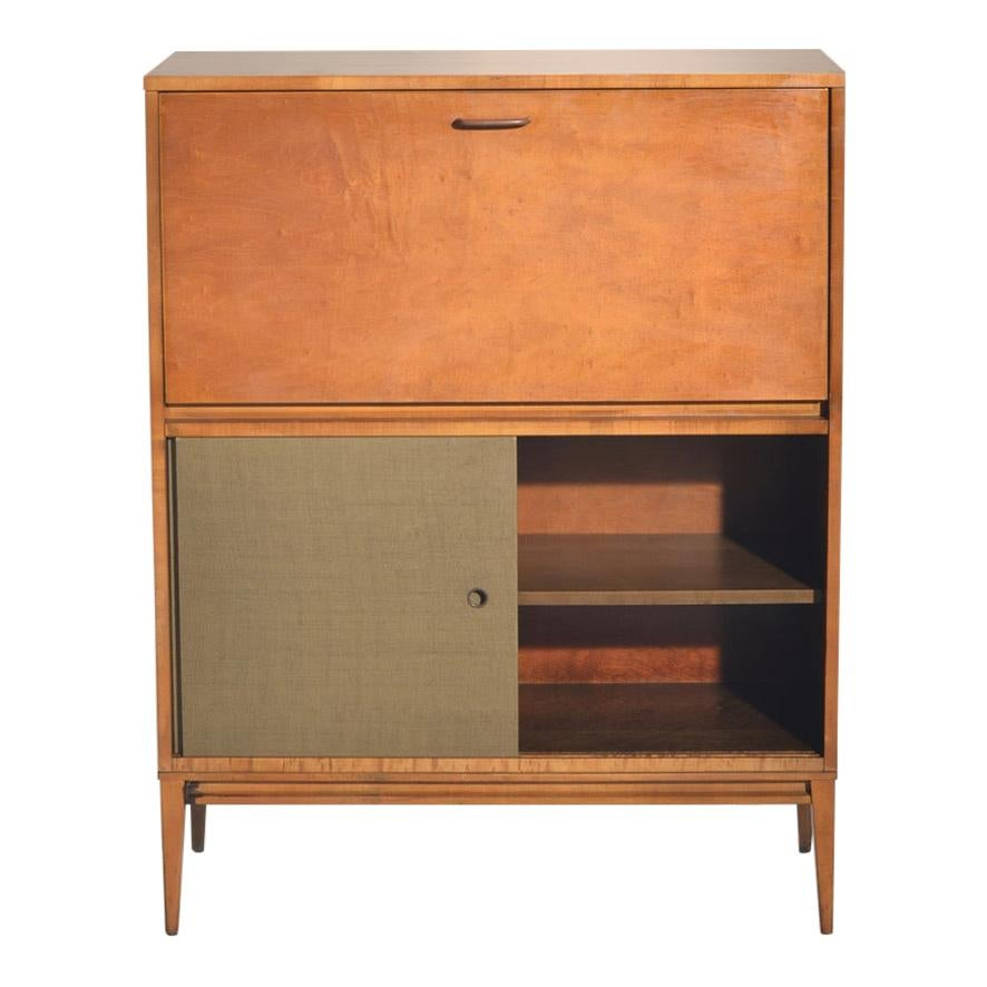 Paul McCobb Drop Front Cabinet or Dry Bar