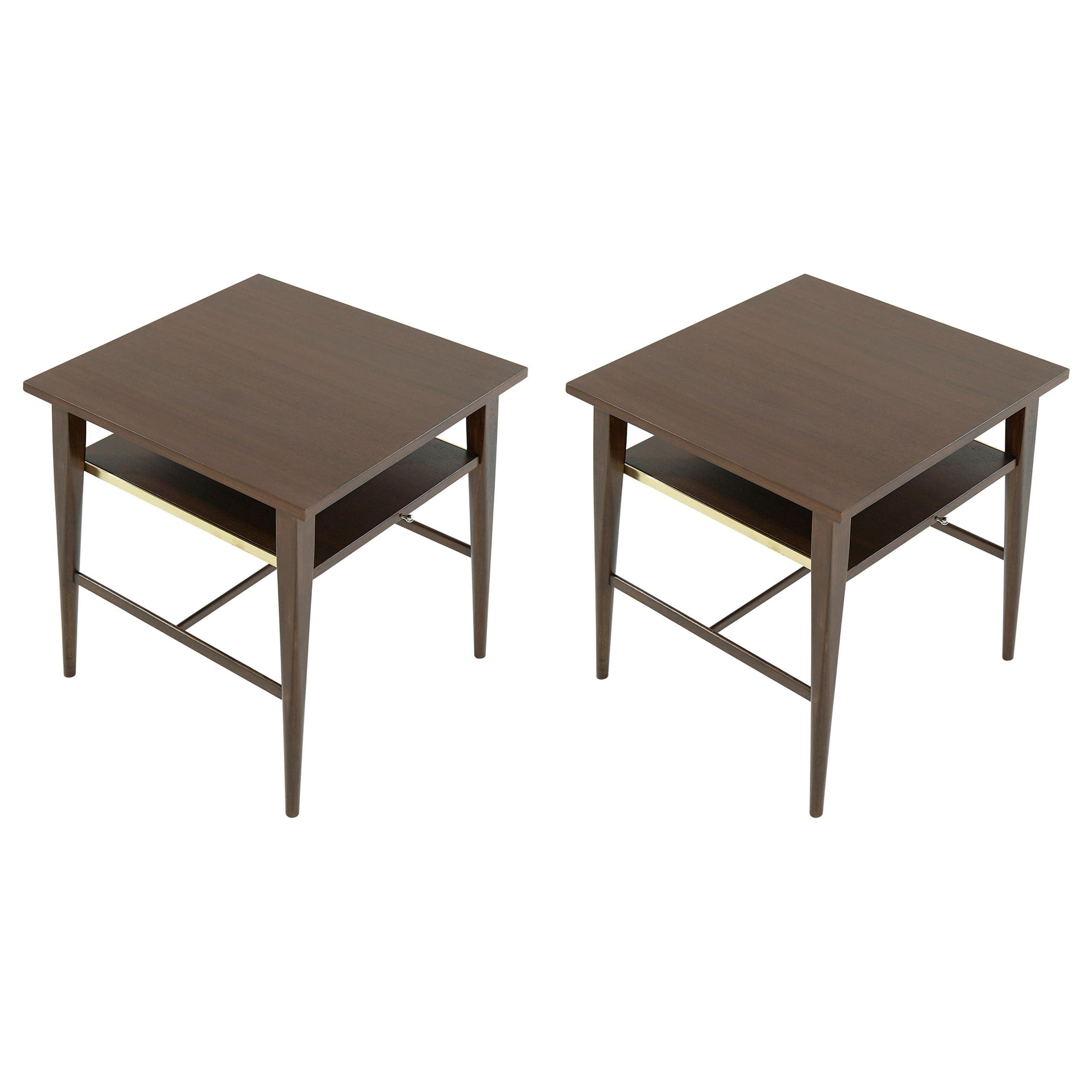 Paul McCobb End Tables, Calvin Group, circa 1950s