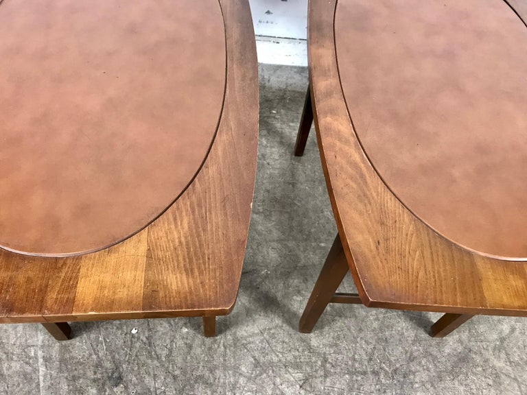 20th Century Paul McCobb End Tables Perimeter Group for Winchendon Furniture Co. 1950 For Sale