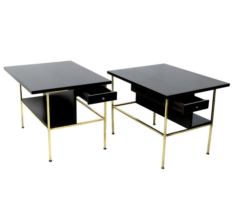 Mid-Century Modern Paul McCobb for Calvin End Tables or Nightstands For Sale