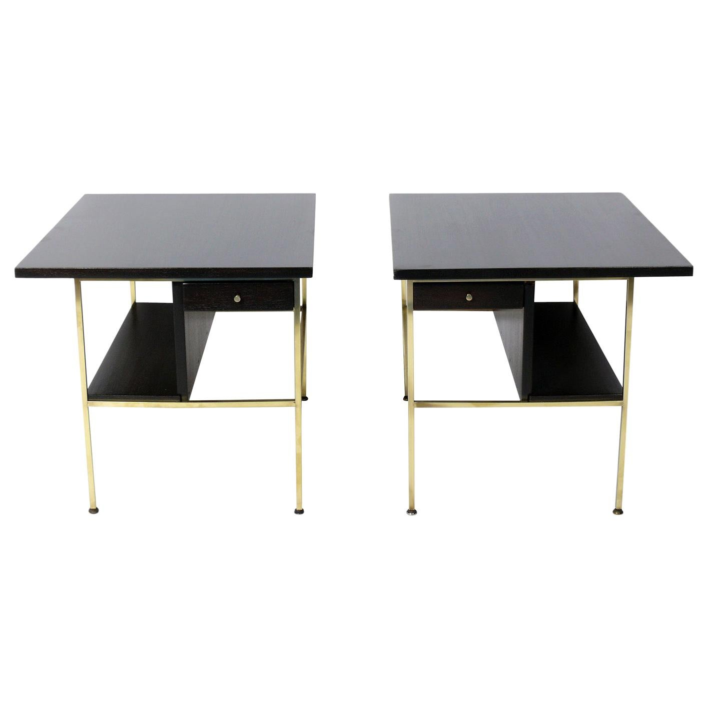 Paul McCobb for Calvin End Tables or Nightstands