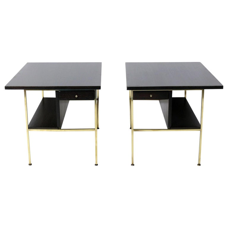 Paul McCobb for Calvin End Tables or Nightstands For Sale