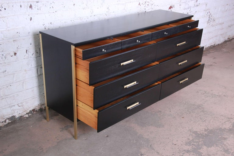 20th Century Paul McCobb for Calvin Furniture Long Dresser For Sale