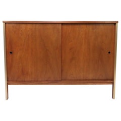 Paul McCobb for Calvin Furniture Two-Door Cabinet, circa Early 1960s
