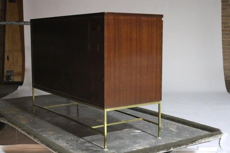 Brass Paul McCobb for Calvin Irwin Cabinet