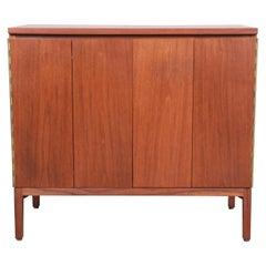 Paul McCobb for Calvin Irwin Collection Mahogany Sideboard or Bar Cabinet