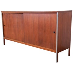 Paul McCobb for Calvin Linear Group Walnut Sideboard or Credenza
