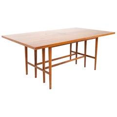 Paul McCobb for Calvin Mid Century 12 Person Walnut Dining Table