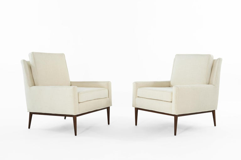 Set of iconic lounge chairs model # 302 designed by Paul McCobb for Directional, circa 1950s.
