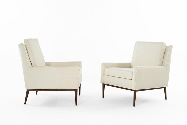 Mid-Century Modern Paul McCobb for Directional Lounge Chairs, circa 1950s For Sale