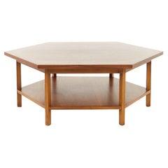 Paul McCobb for Lane Delineator Mid Century Hexagonal Coffee Table