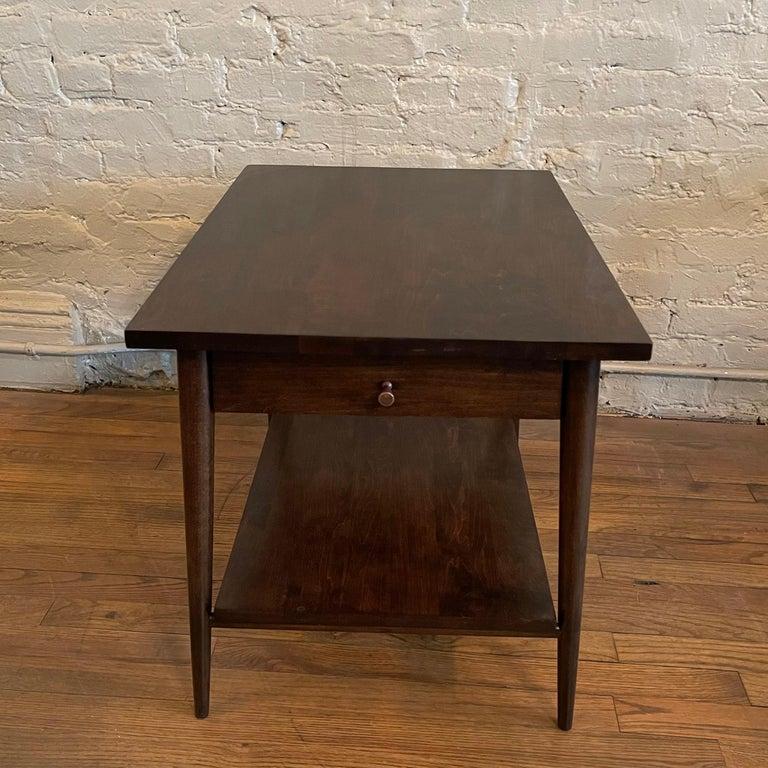 American Paul McCobb For Planner Group Ebonized Side Table