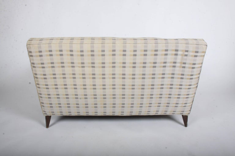 Paul McCobb for Planner Group Loveseat Settee or Sofa In Good Condition For Sale In St. Louis, MO