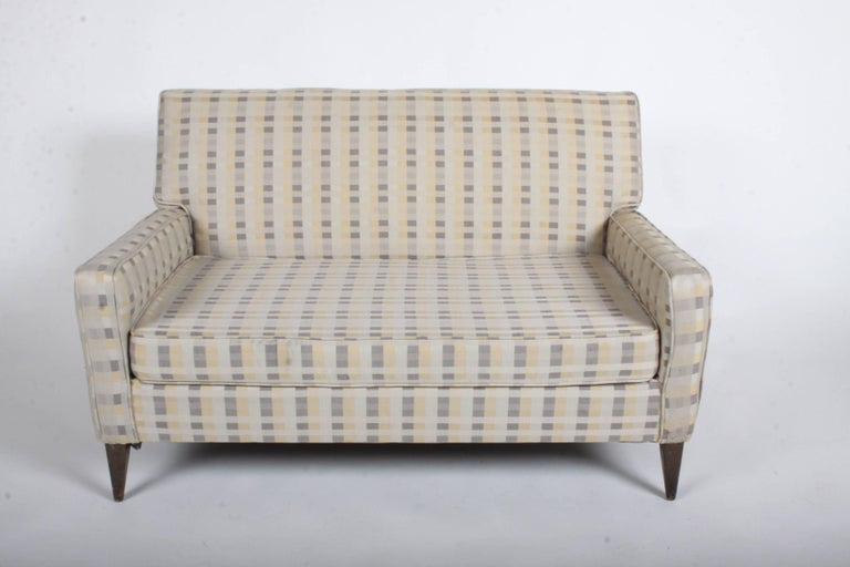 Paul McCobb for Planner Group Loveseat Settee or Sofa For Sale 1